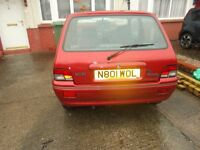 rover 100, 1995, easy project, drive away for £99, telephone for details