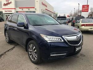 2014 Acura MDX NAV PACK | LEATHER | REAR CAM | 3RD ROW SEATING |