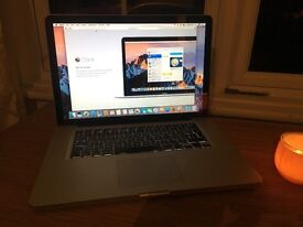 MacBook Pro 15 2012, Core i7 2.3GHz, 8GB RAM, 500GB HDD, Condition great