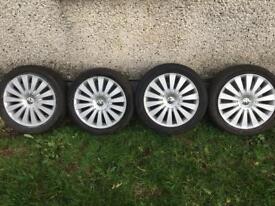 """Alloy wheels and center caps 17"""""""