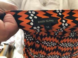 Ladies river island skirt