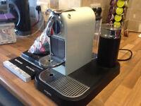 Nespresso Citiz & Milk Coffee Machine - Cream Colour - Excellent Condition - £60