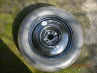 SPACE SAVER WHEEL 18inch TOYOTA WITH COVER