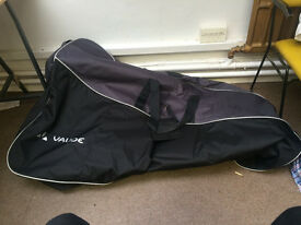 Vaude Bike Bag - Hardly used, excellent condition - Great for taking bikes on Megabus