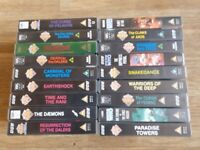 18 x dr who vhs video's