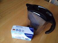 Brita water jug + two filter cartridges