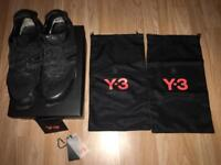 Men's Y3 trainers boxed with tags etc for sale