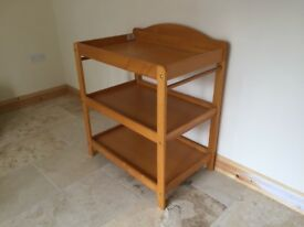 Changing table in excellent condition