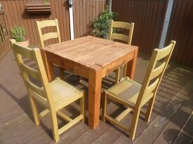 Indigo Furniture Solid Oak Kitchen/Dining Room Table