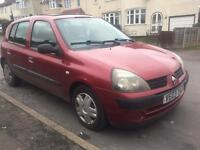 Renault Clio 1.4 automatic expression 2003 full service history only 43k miles!