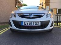 VAUXHALL CORSA 1.2 MANUAL IN WHITE WITH SAME OWNER FROM NEW WITH ONLY 23K MILLAGE