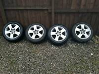 Audi wheels and tyres 16'' £120