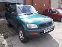 1997 TOYOTA RAV 4 2.0 4X4 1 OWNER FROM NEW PX WELCOME