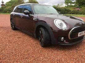 Mini clubman cooper d chilli, sat nav, leather