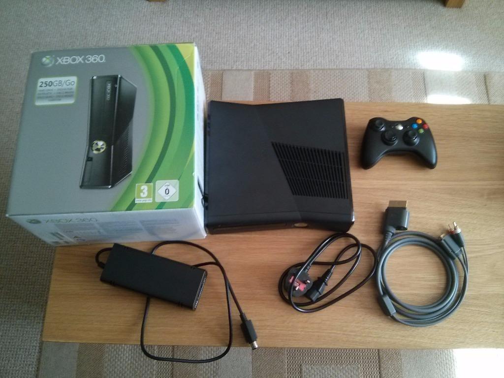 Xbox Slim 4gb vs 250gb Xbox 360 Slim 250gb Matte