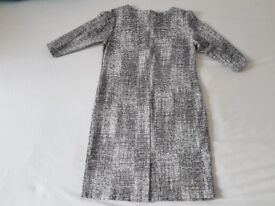 FAB Women's Elegant Casual Evening Party Dress Crew Neck Relaxed Fit Size 42