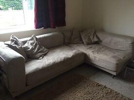 Corner sofa for sale ***reduced, need gone!***
