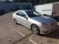 2005 Mercedes c180 K Sport Edition. Very good condition all round £2300