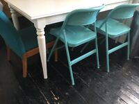 IKEA ingatorp extendable dining table in Dalston