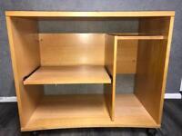 Computer wood desk—
