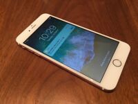 IPhone 6s rose gold 64gb Mobile Phone (unlocked) any network Excellent condition.