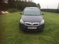 **EXCELLENT ZAFIRA WITH FULL SERVICE, CAMBELT, MOT AND RECALL COMPLETED**