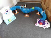 Fisher Price Go Baby sit to crawl Polar Bear Coaster