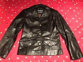 Leather jacket - Size 10 - Brand new with tags
