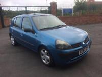 2003 Renault Clio 1.5 Dci £30 road tax £350