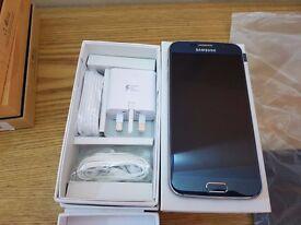 Samsung S6 black/blue 32gb unlocked boxed phone
