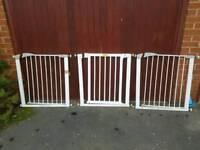 Baby gates x 3