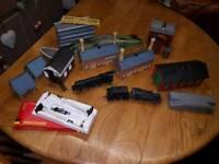 Train Set Job Lot Hornby Tri-ang Heljan