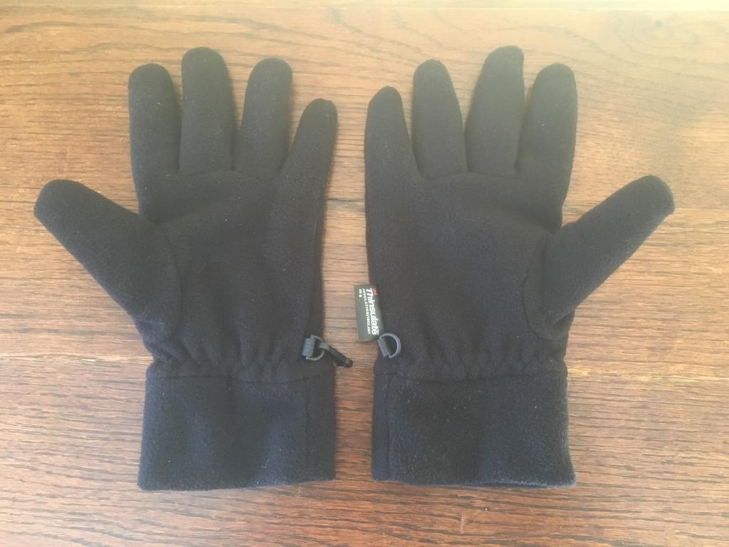 Thinsulate Men's Black Insulation/Isolant Gloves