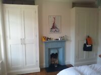 Custom Made/Hand made Fitted Wardrobes, Alcove Units, Bookshelves, Storage Solutions