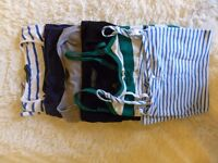 A bundle of maternity clothes