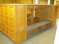 CONTENTS OF GOLF CLUB - CATERING EQUIPMENT, LOUNGE FURNITURE, LOCKER ROOM