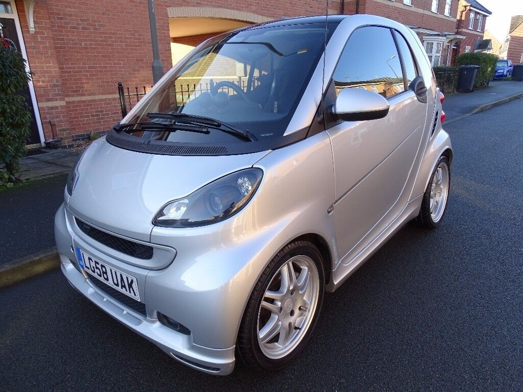 2008 Smart Fortwo 1 0 Auto Brabus Edition Full History Mot Only 55k Miles