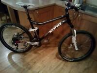 "KONA TANUKI - Full suspension mountain bike 18"" (Medium)"