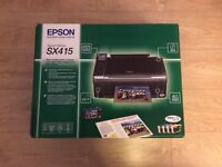 Epson Stylus SX415 Printer and Scanner - London - In Box Almost New - Perfect for home / office