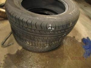 205/60R16 2 ONLY USED WEATHERMAX  ALL SEASON TIRES