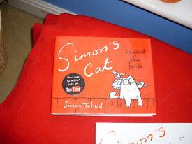 SIMON'S CAT BOOKS- 2 DIFFERENT HARDBACK BOOKS-£2.50 FOR THE PAIR.