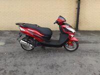 2015 lexmoto fms 125cc scooter very low miles tidy bike