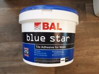 BAL Blue Star Tile Adhesive for Walls, White 10L