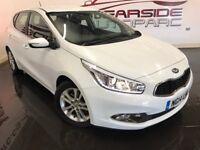 KIA CEED 1.6 CRDi 2 Hatchback 5dr (ISG) (white) 2014