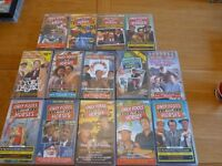 Only Fools and Horses Video's, a small collection including: