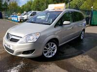 !! VAUXHALL ZAFIRA DIESEL 09 PLATE 7 SEAT LEATHER FINANCE AVAILABLE !!