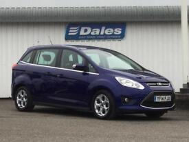 Ford Grand C-MAX 1.6 TDCi Zetec 5dr (blue) 2014