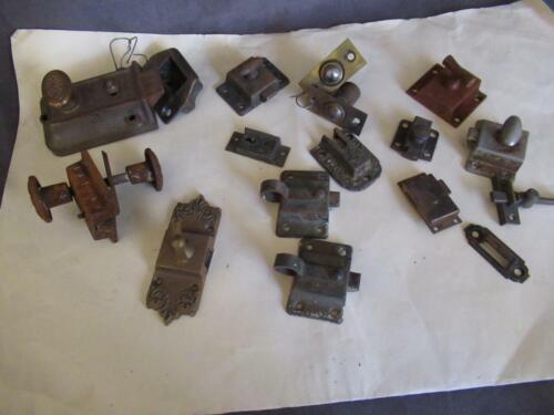 Antique Lot Misc Door & Cabinet Latches & Locks Eastlake Plus #1 ks
