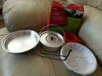 One person camping cookset