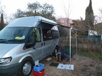 Autosleeper Duetto 2005 Campervan in metallic silver 5.4m long, ready for the road.